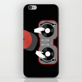 Red DJ iPhone Skin