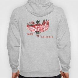 Red London Hoody