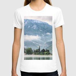Breathtakingly Awesome Lago Di Toblino Castle Italy Europe Ultra HD T-shirt
