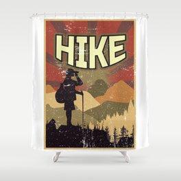 Hike Propaganda | Hiking Nature Outdoor Camping Shower Curtain