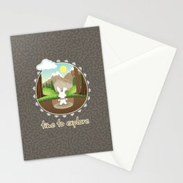 Time to explore Stationery Cards