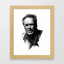 Clint Eastwood - Unforgiven Framed Art Print