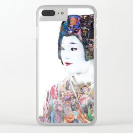The Layering of the komono Clear iPhone Case