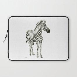 Zebra Watercolor Baby Animals Laptop Sleeve