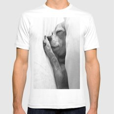 Colorless Dream Mens Fitted Tee MEDIUM White