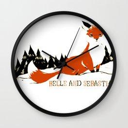 "Belle & Sebastian ""Fox In The Snow"" Wall Clock"