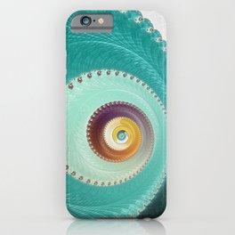 Birds Eye View - Fractal Art  iPhone Case