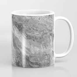 Grayscale Marble Coffee Mug
