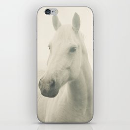 Dreamy Horse Photo iPhone Skin