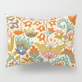 Forest flowers Pillow Sham