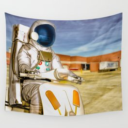 Attention Wal Mart Shoppers Wall Tapestry