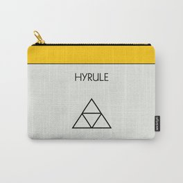 Hyrule Monopoly location Carry-All Pouch