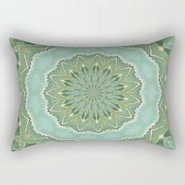 Succulent Mandala Rectangular Pillow