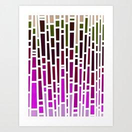 Pink Rain Art Print
