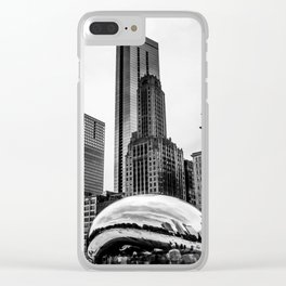 The Bean. Clear iPhone Case