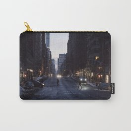 Winter dusk in New York Carry-All Pouch