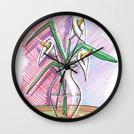 Three coves Wall Clock