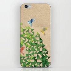 Where Origami Birds Go iPhone & iPod Skin