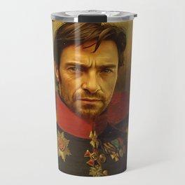 Hugh Jackman - replaceface Travel Mug