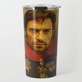 Hugh Jackman - replaceface Travel Mug