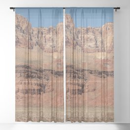 Colorful Mesas 2 - Desert Southwest Sheer Curtain