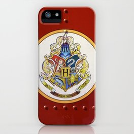 Red  Hp iPhone Case