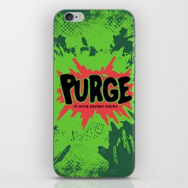 purge iPhone Skin