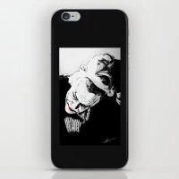 superheros iPhone & iPod Skins featuring Man Behind The Mask by KODYMASON