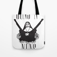 Guns 'n' Nuns Tote Bag