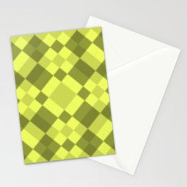 Simple , neon yellow Stationery Cards