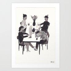 Table Situation Art Print