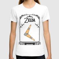legend of zelda T-shirts featuring Zelda legend - Boomerang by Art & Be