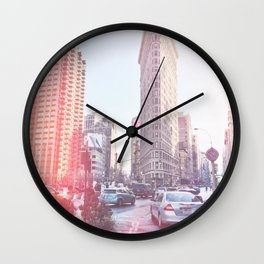 Flatiron Building - NYC Wall Clock