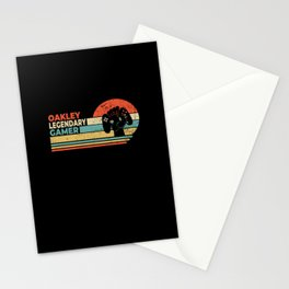 Oakley Legendary Gamer Personalized Gift Stationery Cards