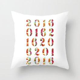 2016 Throw Pillow