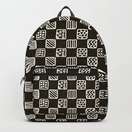 Boxed geo mish mash Backpack