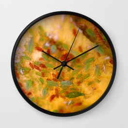 Aphids Infestation Wall Clock