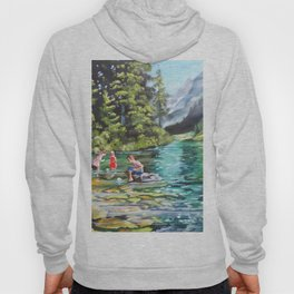 Boats on the water Hoody