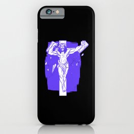 Jesus Christ Strong Crucifix Religion God Cross Gift iPhone Case