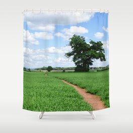 Herefordshire Countryside Shower Curtain