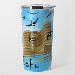 Baku. Maiden Tower Travel Mug