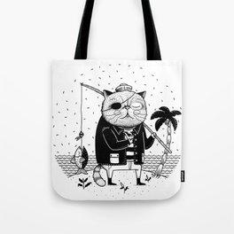 Fishercat Tote Bag
