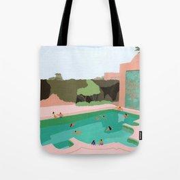 Backyard dip Tote Bag