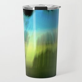 Abstract Victoria Park Costa Mesa CA Travel Mug