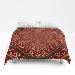 Woven Indian Design Mandala Comforters