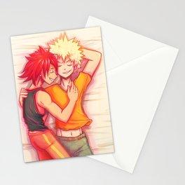 kiribaku snugs Stationery Cards