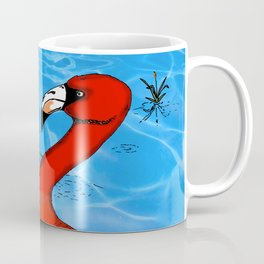 Flamingo Strut Coffee Mug