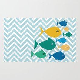 School of Fish Rug