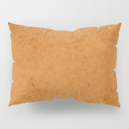Yellow suede Pillow Sham