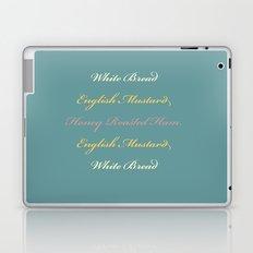 Ham and Mustard Laptop & iPad Skin